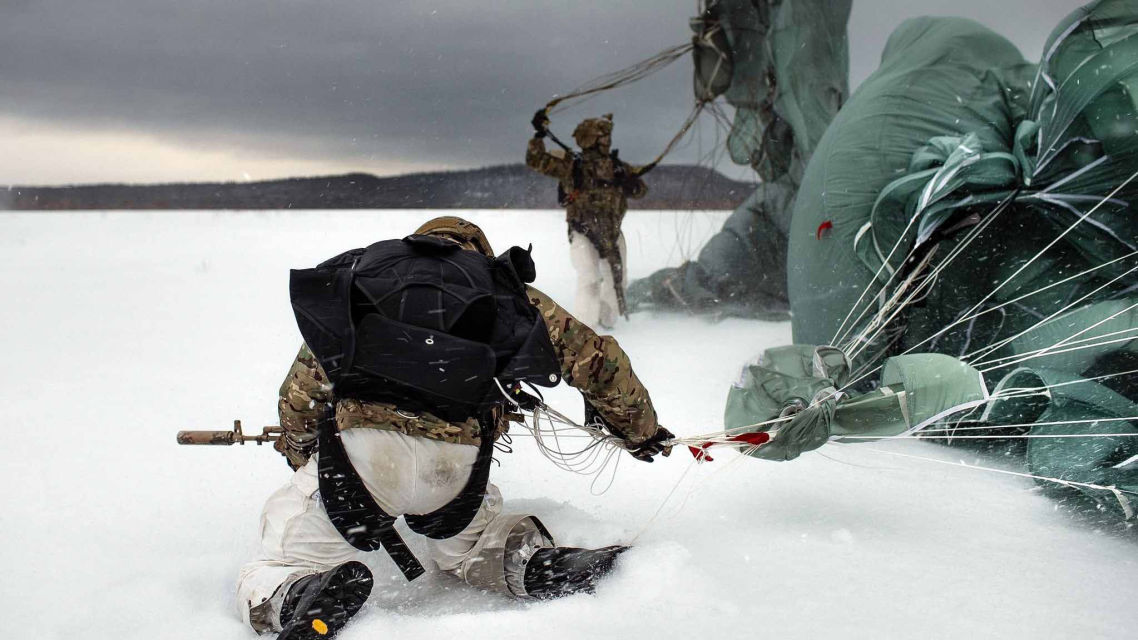 Arctic JTF2 CVJTF - SPECOPS Filed Simulations - Special Forces, military intelligence extreme training and extreme adventure, jungle and desert survival courses.